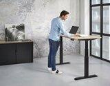 Elektrisch zit sta bureau 140 x 80 cm - Tijdelijk verlaagd in prijs._