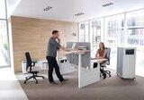 Mikomax zit sta bureau Balance HIGH - slingerverstelbaar of elektrisch_