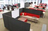 Akoestische loungebank Quadra_