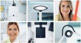 Waldmann LED bureaulamp ParaMI - vierkant_