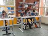 Deskbike school - oranje_