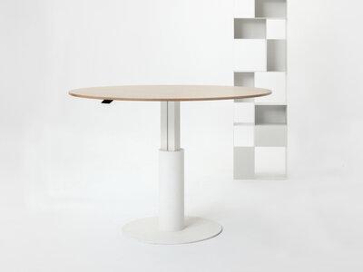 Ronde sta zit vergadertafel - ø 140 - 160 cm