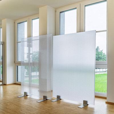 akoestische plexiglas schermen
