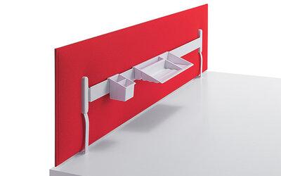 Caimi akoestische bureauwanden Mitesco Desk