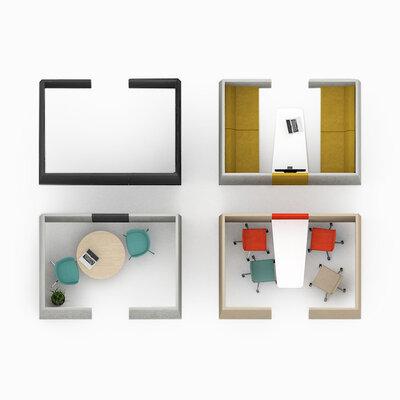 akoestische kubus kopieerruimte / overlegruimte