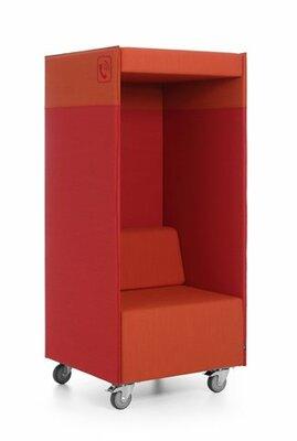 Belstoel Quadra Phonebox - wielen