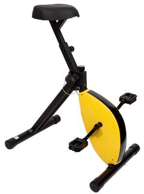 Deskbike - bureaufiets - geel / zwart