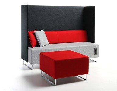 Akoestische loungebank Quadra