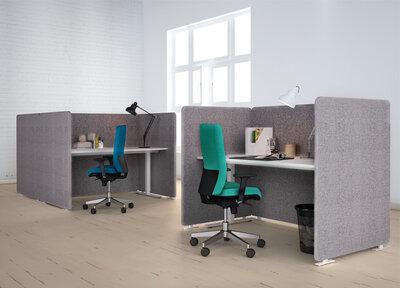 Akoestische werkplek 160 smart-desk V
