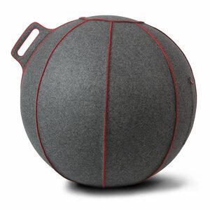 Grey flecked / Red