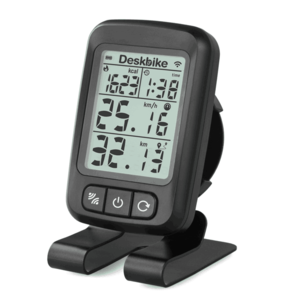 Deskbike bluetooth display