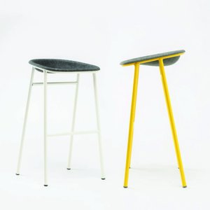 De Vorm - PET Felt Bar Stool*